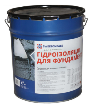 Гидроизоляционная мастика для фундаментов