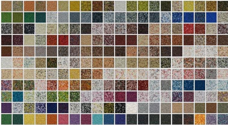 Штукатурные фасады - Мозаичные штукатурки