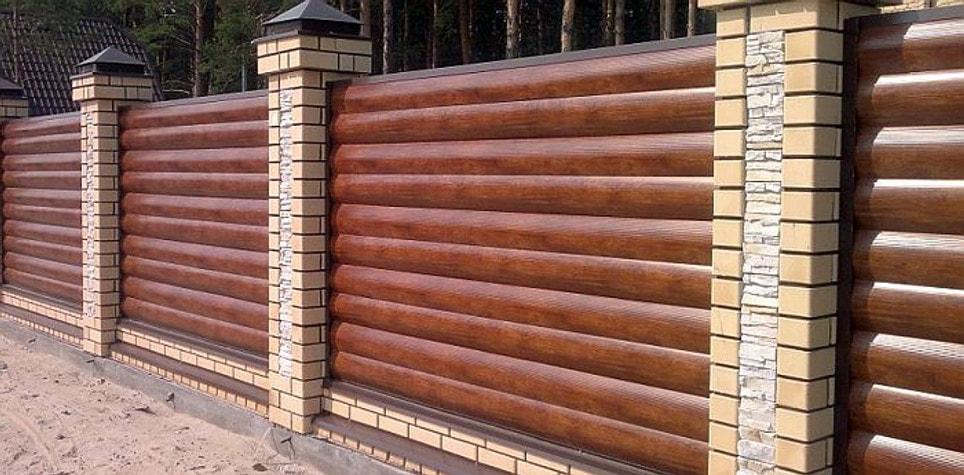 Заборы и ограждения - Металлические панели