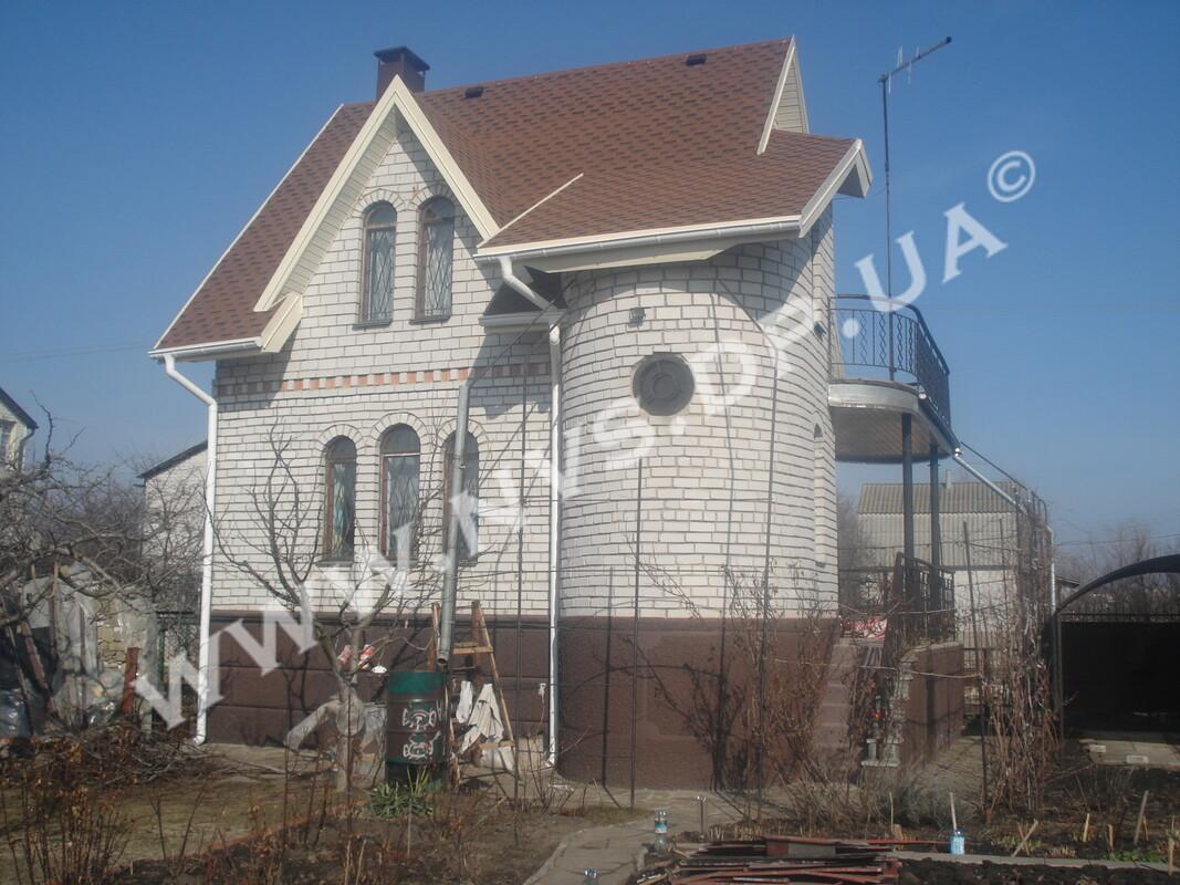 Битумная черепица Kerabit Квадро Медный 155м.кв.