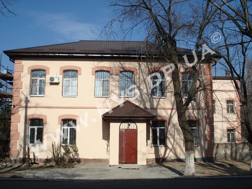 Штукатурный фасад - Baumit 1040м.кв.
