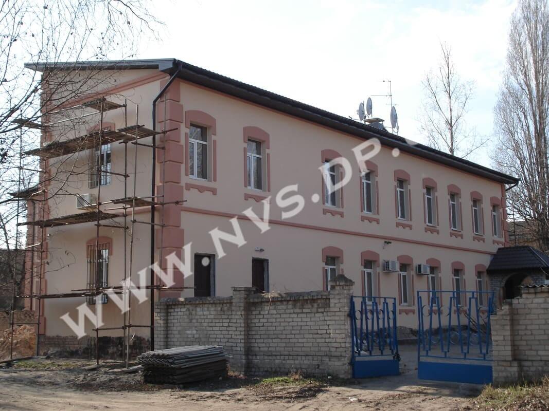 Штукатурный фасад - Baumit 1040м.кв.(2)