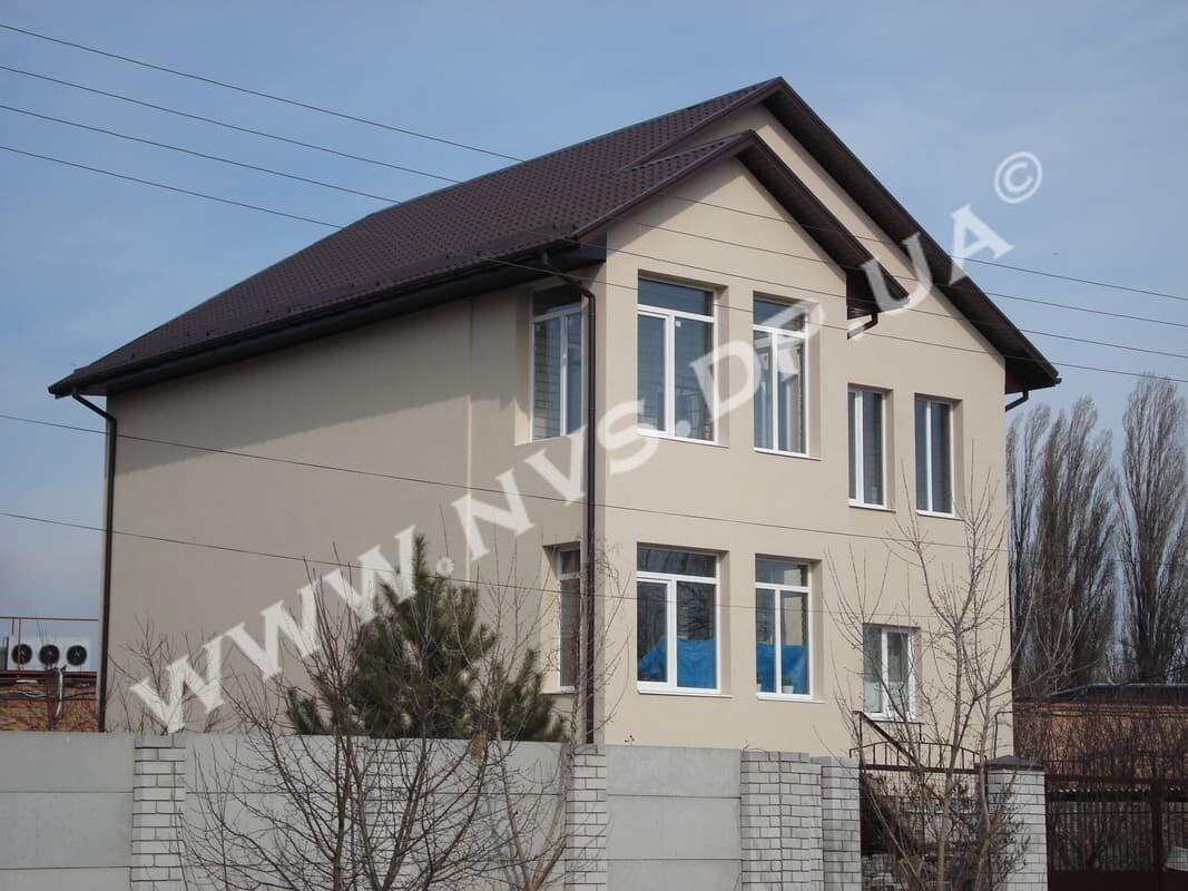 Штукатурный фасад - Baumit 310м.кв.