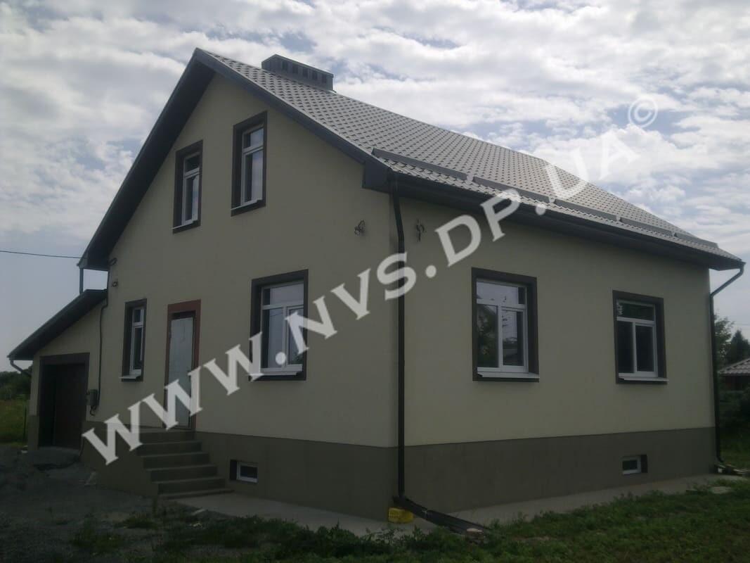 Штукатурный фасад - Ceresit 170м.кв.