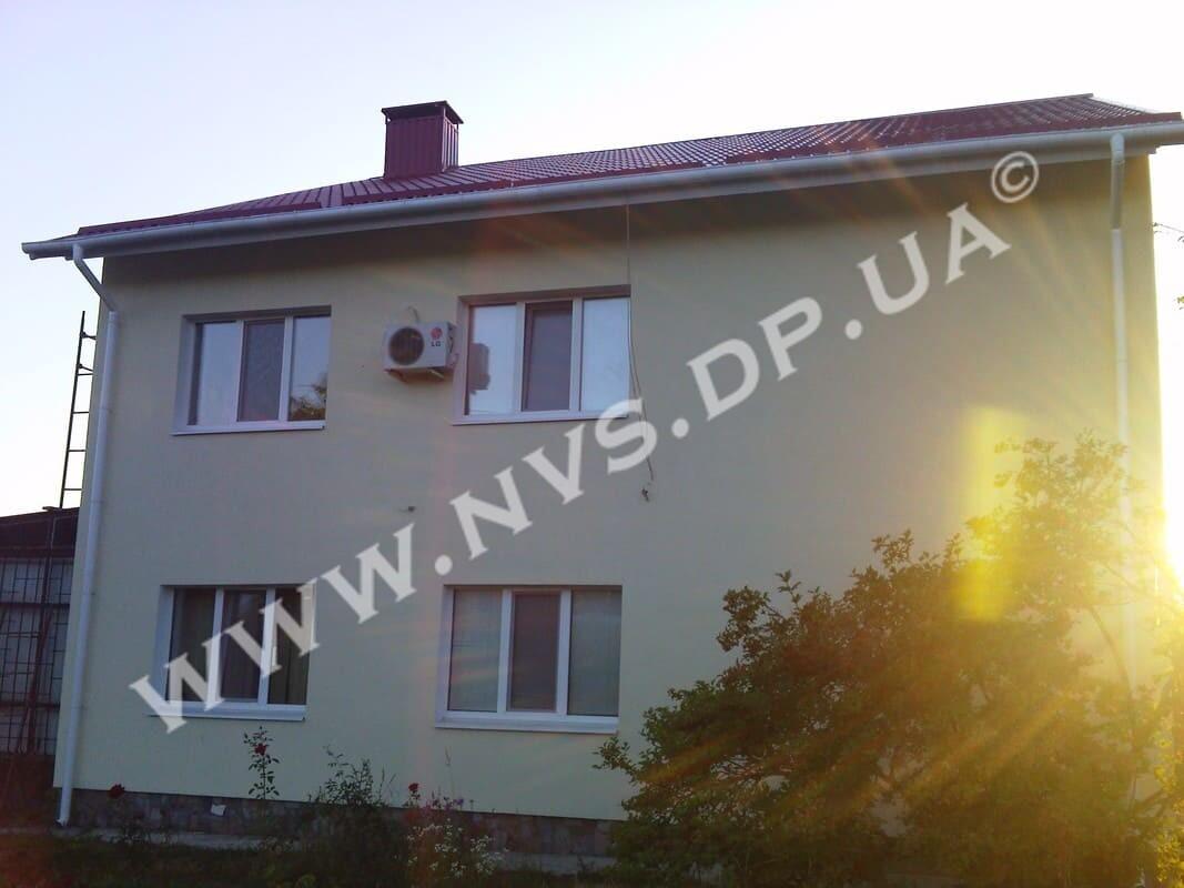 Штукатурный фасад - Ceresit 365м.кв.