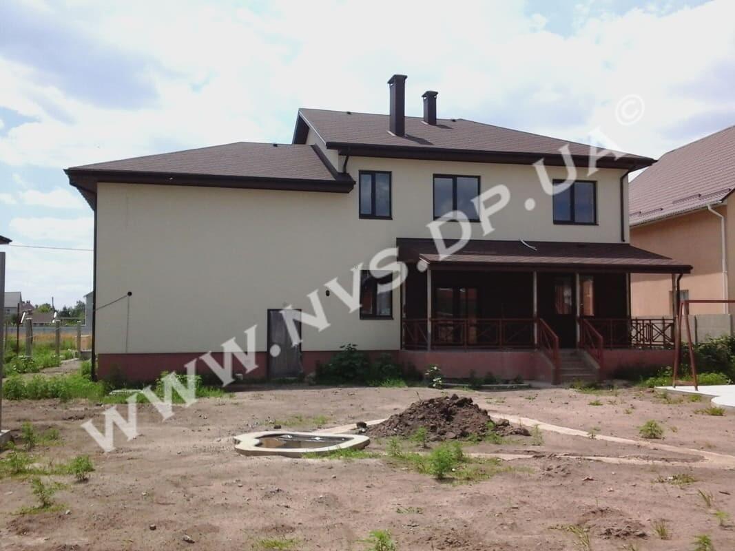 Штукатурный фасад - Ceresit 370м.кв. (2)