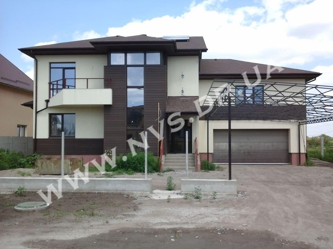 Штукатурный фасад - Ceresit 370м.кв.