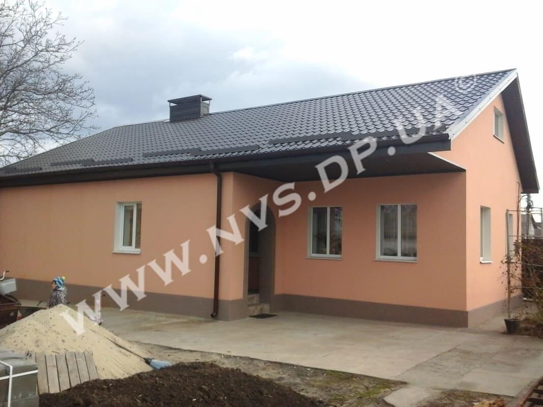 Штукатурный фасад - Ceresit + Baumit 125м.кв.