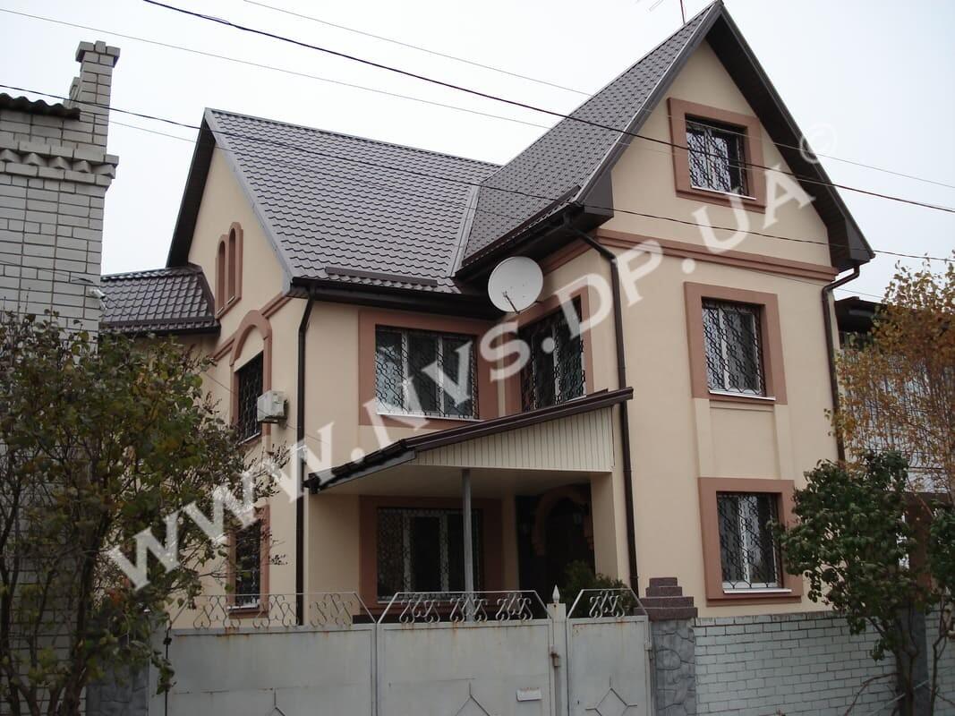 Штукатурный фасад - Ceresit + Baumit 340м.кв.