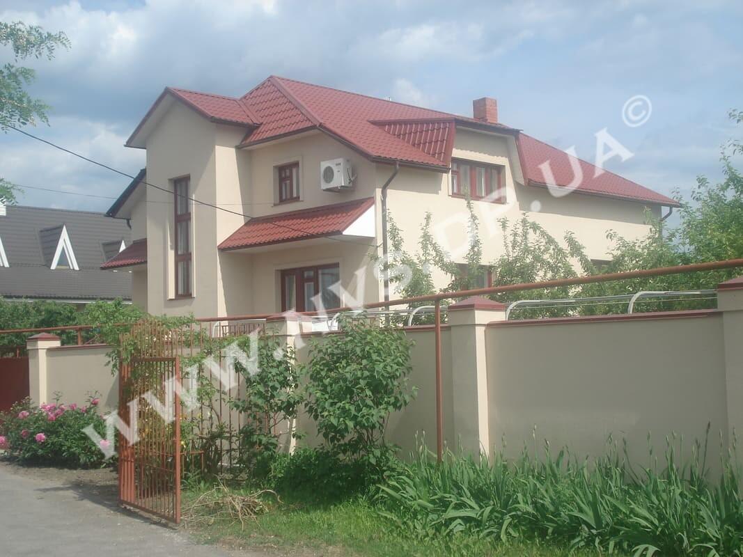 Штукатурный фасад - Ceresit-Dufa 265м.кв.