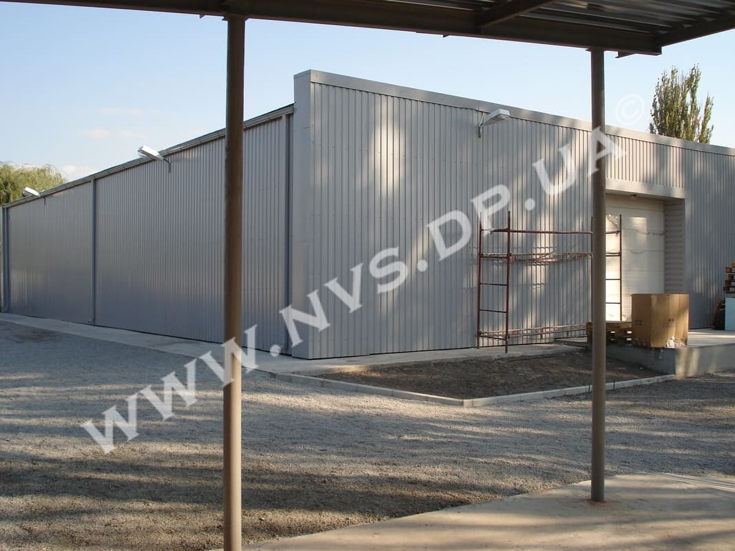 Строительство складских помещений под ключ